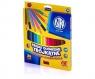 Kredki ołówkówe Jumbo trójkątne mini 12 kolorów