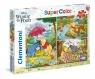 Puzzle SuperColor 3x48: Kubuś Puchatek (25232)