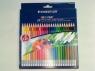 Kredki z gumką Noris Club 24 kolory (S 144 50NC24)