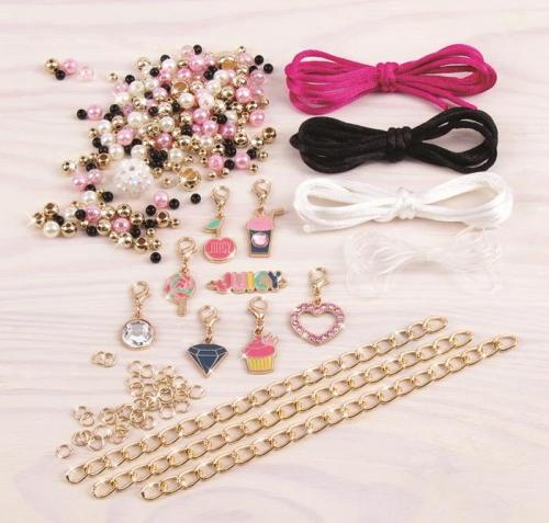 Make it Real Zestaw do tworzenia bransoletek Juicy Mini Pink & Precious