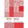 Blok z motywami A4/15 arkuszy - Red (396846)