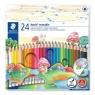 Kredki usuwalne Staedtler Noris erasable z gumką, 24 kolory (144 50NC24)