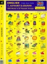 Angielski Dobierz do pary 1 Alphabet & Colours