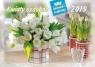 Kalendarz 2019 Rodzinny Kwiaty ozdobne WL2