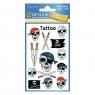 Tatuaże dla dzieci - czaszki (56632)