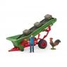 Farmer z taśmociągiem na siano - 42377