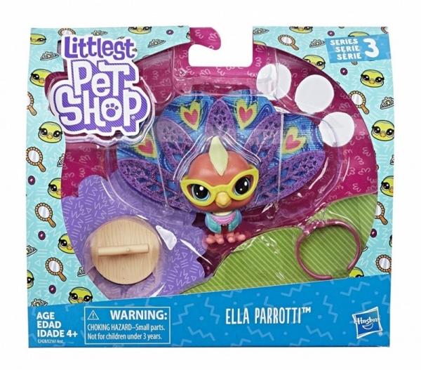 Littlest Pet Shop Zwierzaki Premium Ella Parroti (E2161/E2428)