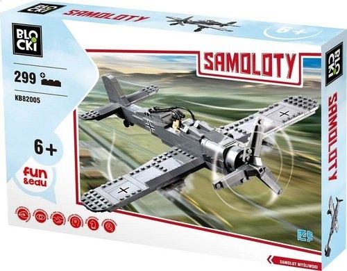 Klocki Blocki: Samoloty 299 elementów (KB82005)