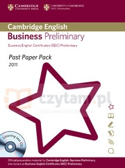 Camb English Business Preliminary 2011 Exam Papers and Teachers' Booklet with Audio CD Corporate Author Cambridge ESOL