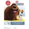 Sekretne życie zwierzaków domowych 2. Najlepsi przyjaciele. Czytaj i koloruj praca zbiorowa