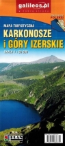 Karkonosze i Góry Izerskie 1:50 000 praca zbiorowa