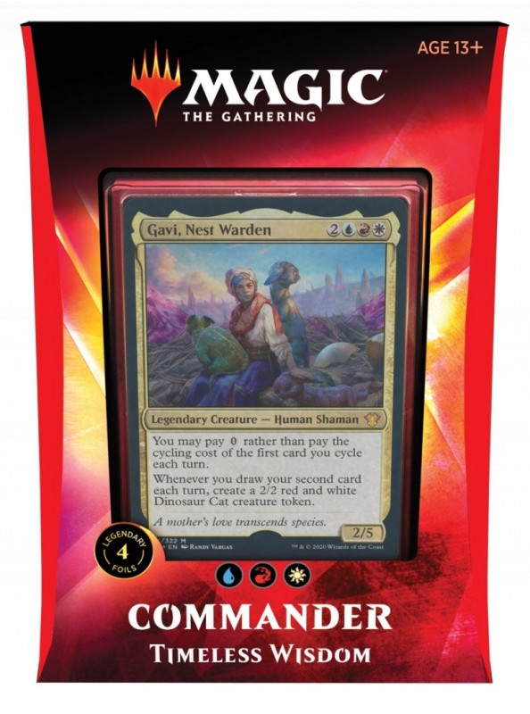 Karty Ikoria LoB Commander Deck Timeless Wisdom (43586/43579E)