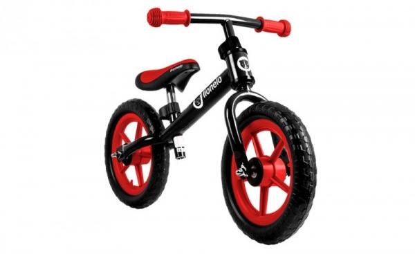 Rowerek biegowy Fin Plus black (52331)
