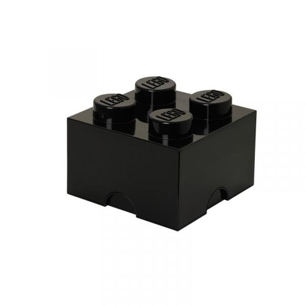 Pojemnik klocek LEGO Brick 4 - Czarny (40031733)