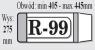 OKŁADKI NA KSIĄŻKI REGULOWANE R99 - IKS /50/