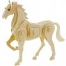 Puzzle drewniane 3D Koń