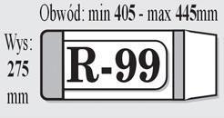 OKŁADKI NA KSIĄŻKI REGULOWANE R99 - IKS /50/ .......