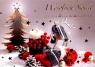 Karnet świąteczny BN B6ZO z opłatkiem religia lub świecka