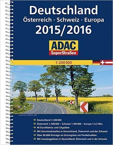 SuperStrassen ADAC. Deutschland 2015/2016 praca zbiorowa