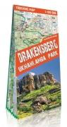 Drakensberg Ukhahlamba Park 1:100 000 trekking map