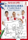 PZPN Piłka nożna Turniej piłkarski Kolorowanka z naklejkami Praca zbiorowa