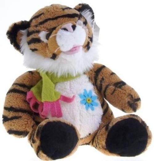 Tygrys pluszowy brązowy 30 cm