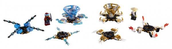 LEGO Ninjago: Spinjitzu Nya & Wu (70663)