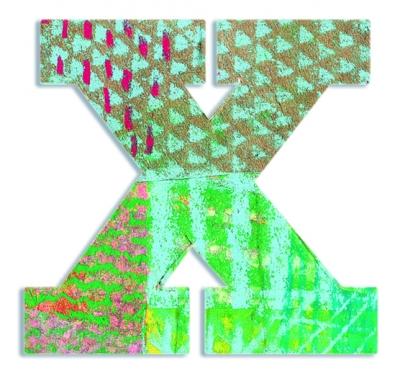 X - literka Paw do przyklejenia (DD04833)