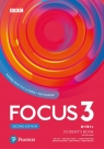 Focus Second Edition 3. Student's Book + kod (Digital Resources + Interactive eBook) Pack
