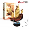Puzzle 3D Żaglowiec Chinese Sailboat 62 elementy (T4033h)