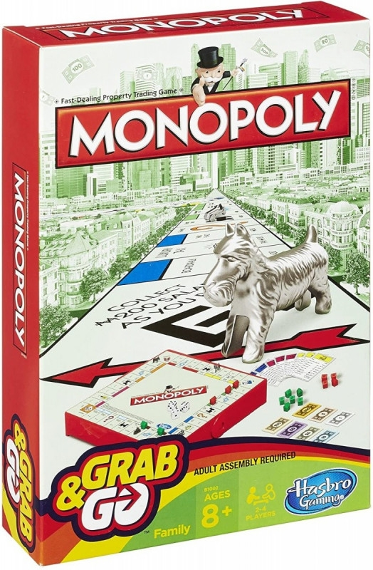Gra Monopoly Grab and Go (B1002)
