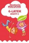 Akademia malucha 6-latek Zeszyt 2 (Uszkodzona okładka)
