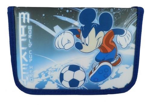 Piórnik z wyposażeniem Myszka Mickey World Cup