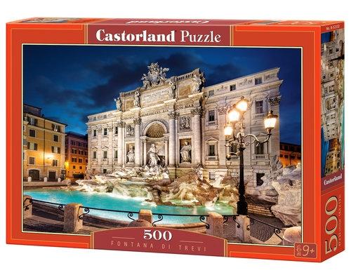 Puzzle 500: Fontana di Trevi