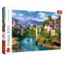 Puzzle 500: Stary Most w Mostarze, Bośnia i Hercegowina (37333)