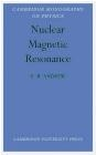 Nuclear Magnetic Resonance E.R. Andrew, E Andrew