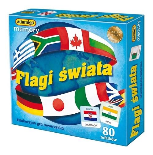 Flagi świata memory
