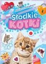 Album z naklejkami Słodkie kotki