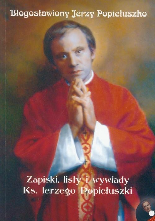 Błogosławiony Jerzy Popiełuszko z płytą CD Bartoszewski Gabriel
