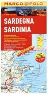 Sardinia. Mapa samochodowa Marco Polo w skali 1:200 000 praca zbiorowa