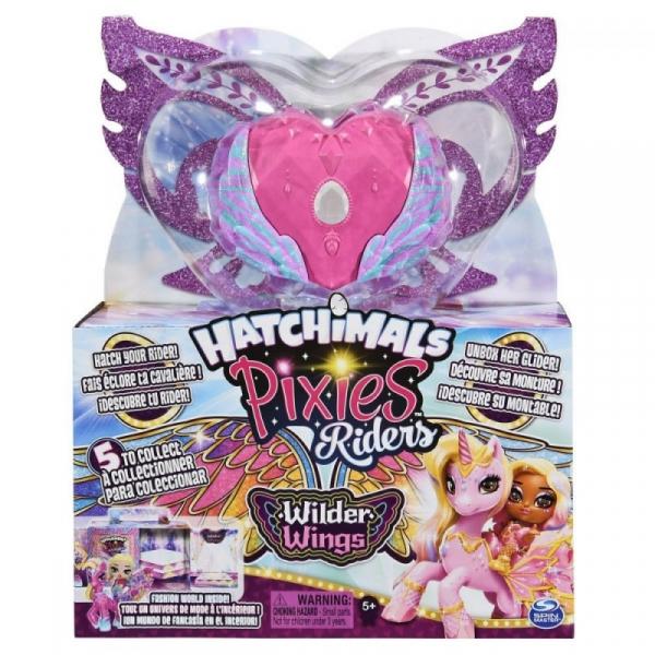Hatchimals Pixies Riders Wilder Wings Zebra (6059691/20128607)