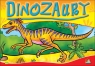 Kolorowanka. Dinozaury mała - Dino pręgowany (A5, 12 str.)