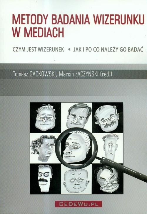 Metody badania wizerunku w mediach - książka