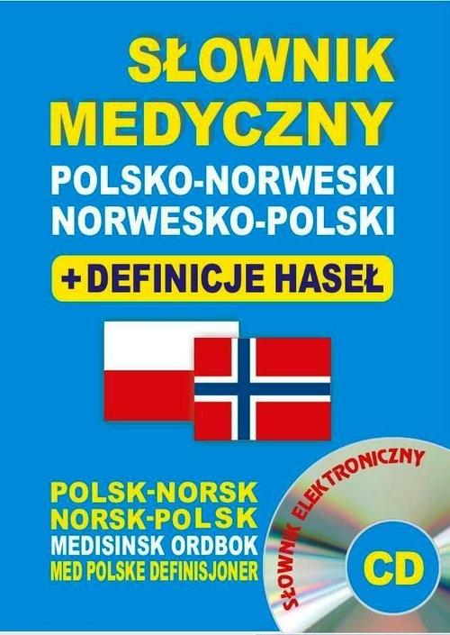 Słownik medyczny polsko-norweski + definicje haseł + CD (słownik elektroniczny) Lemańska Aleksandra, Gut Dawid, Majewska Joanna