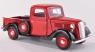 MOTORMAX Ford Pick Up 1937 (redblack) (73233)