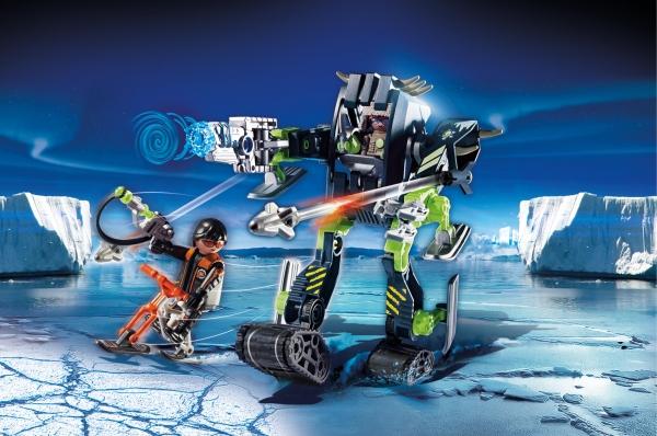 Playmobil Top Agents: Arktyczni rebelianci Lodowy robot (70233)