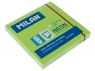 Karteczki neonowe Milan 75x75 mm zielone, 80 sztuk