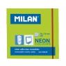 Karteczki samoprzylepne Milan Neon, zielone (85433)