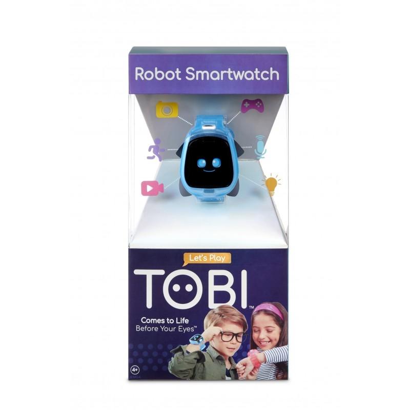 Little Tikes - Zegarek Tobi Robot SmartWatch - niebieski (655333E5C)