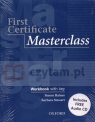 Masterclass First Certificate workbook with key Haines Simon